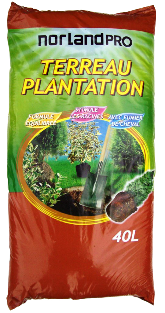 Norland norland pro terreau plantation 40l for Catalogue plantation